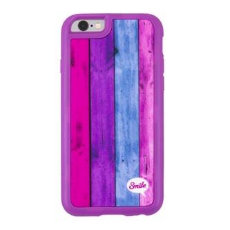 Kryt na Samsung Galaxy S7 Edge, růžový, TPU, Wood Spirit Sweet, Smile