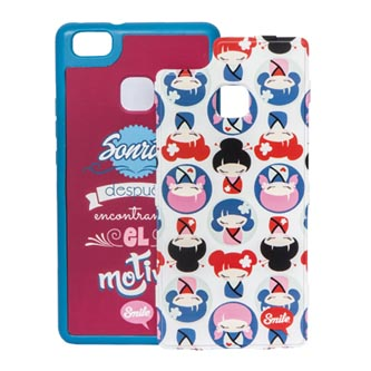 Kryty na iPhone 7, růžové, TPU, PC, Dress Me Kawaii, 2v1, Smile