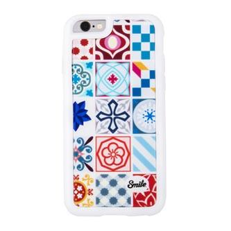 Kryt na iPhone 7, barevný, TPU, PC, Ceramic Modernism, Smile