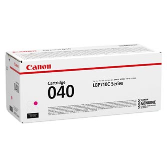 Canon originální toner 040M, magenta, 5400str., 0456C001, Canon imageCLASS LBP712Cdn,i-SENSYS LBP710Cx, LBP712Cx, O