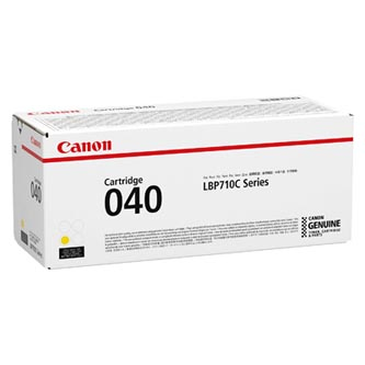 Canon originální toner 040Y, yellow, 5400str., 0454C001, Canon imageCLASS LBP712Cdn,i-SENSYS LBP710Cx, LBP712Cx, O