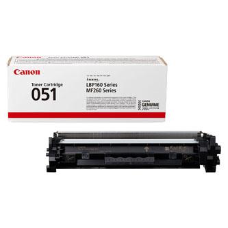 Canon originální toner CRG051, black, 1700str., 2168C002, Canon LBP162dw, MF269dw, MF267dw, MF264dw, O