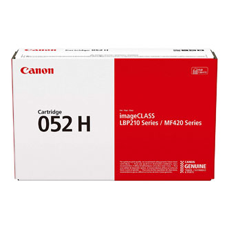 Canon originální toner 052H, black, 9200str., 2200C002, high capacity, Canon LBP212dw,214dw,215x, MF421dw,426dw,428x,429x