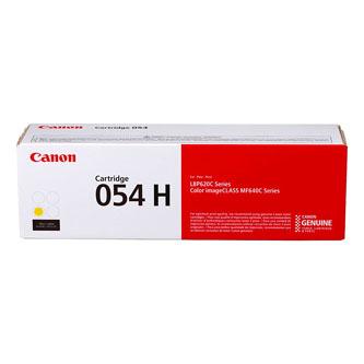 Canon originální toner 054HY, yellow, 2300str., 3025C002, high capacity, Canon i-SENSYS LBP621Cw, 623Cdw, MF641Cw, 643Cdw, 645Cx
