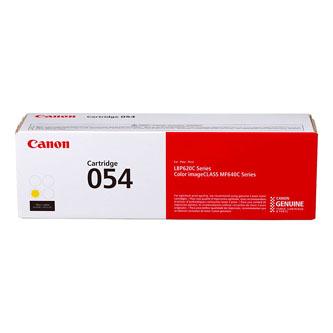 Canon originální toner 054Y, yellow, 1200str., 3021C002, Canon i-SENSYS LBP621Cw, 623Cdw, MF641Cw, 643Cdw, 645Cx