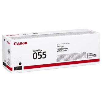 Canon originální toner 55, black, 2300str., 3016C002, Canon MF742Cdw, MF744Cdw, MF746Cx, LBP663Cdw, LBP664Cx