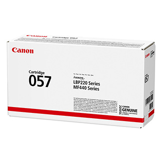Canon originální toner 57, black, 3100str., 3009C002, Canon LBP228, LBP226, LBP223, MF449, MF446, MF445, MF443