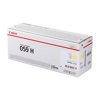 Canon originální toner 059HY, yellow, 13500str., 3624C001, high capacity, Canon LBP852Cx