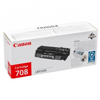 Canon originální toner CRG708H, black, 6000str., 0917B002, high capacity, Canon LBP-3300, O
