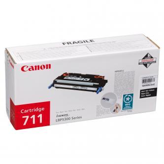 Canon toner cart. CRG-711Bk black (CRG711BK)