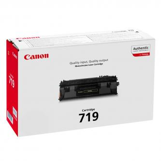 Canon originální toner CRG719, black, 2100str., 3479B002, Canon LBP-6300dn,6650dn,MF 5840dn,5880dn,5980dw,5940dn, O