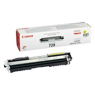 Canon toner CRG-729Y Yellow (CRG729Y)