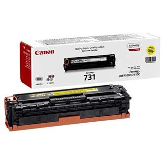 Canon toner CRG-731Y yellow (CRG731Y)