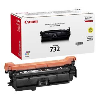 Canon originální toner CRG732, yellow, 6400str., 6260B002, Canon i-SENSYS LBP7780Cx, O