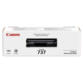 Canon originální toner CRG737, black, 2400str., 9435B002, Canon MF229, MF226, MF217, MF216, MF212, MF211, MF237, O