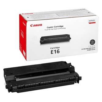 Canon originální toner 1492A003, black, 2000str., E16, Canon FC 120,200,204,224,280,336,PC 860,880,890, O