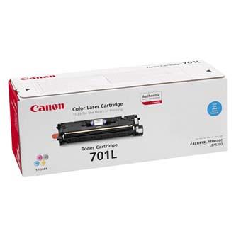 Canon originální toner EP701, cyan, 2000str., 9290A003, Canon LBP-5200, Base MF-8180c, O