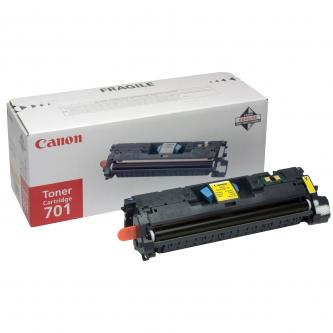 Canon originální toner EP701, yellow, 2000str., 9288A003, Canon LBP-5200, Base MF-8180c, O