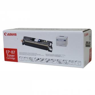 Canon originální toner EP87, cyan, 4000str., 7432A003, Canon LBP-2410, O