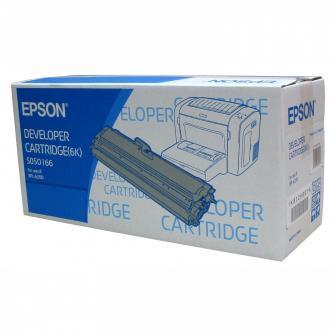 Epson originální toner C13S050166, black, 6000str., Epson EPL-6200, 6200N, O