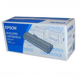 Epson originální toner C13S050167, black, 3000str., Epson EPL-6200, 6200L, 6200N, O