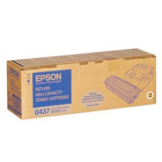Epson originální toner C13S050437, black, 8000str., return, Epson AcuLaser M2000D, 2000DN, 2000DT, 2000DTN, O
