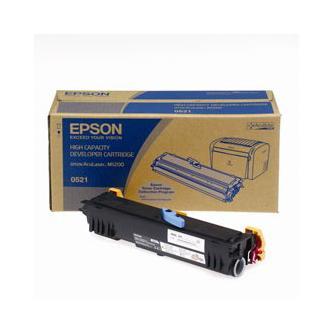 Epson originální toner C13S050523, black, 3200str., Epson AcuLaser M1200, return