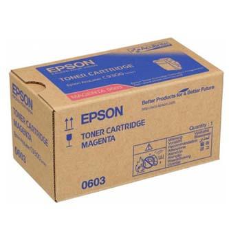 Epson originální toner C13S050603, magenta, 7500str., Epson Aculaser C9300N, O
