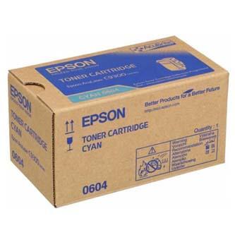Epson originální toner C13S050604, cyan, 7500str., Epson Aculaser C9300N