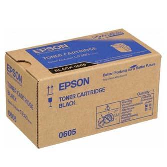 Epson originální toner C13S050605, black, 6500str., Epson Aculaser C9300N, O