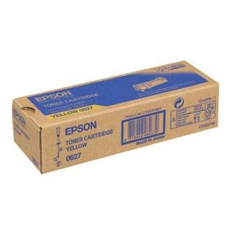 Epson originální toner C13S050627, yellow, 2500str., Epson Aculaser C2900N, O