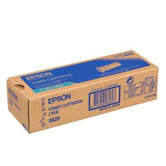 Epson originální toner C13S050629, cyan, 2500str., Epson Aculaser C2900N, O