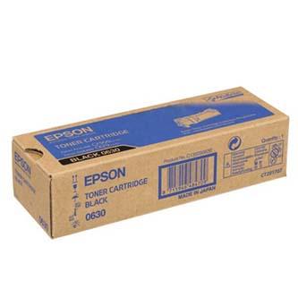 Epson originální toner C13S050630, black, 3000str., Epson Aculaser C2900N, O