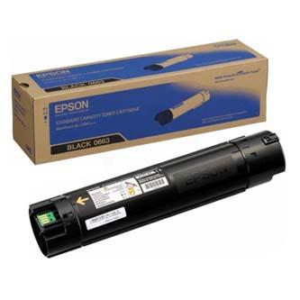 Epson originální toner C13S050663, black, 10500str., Epson Aculaser C500DN, O