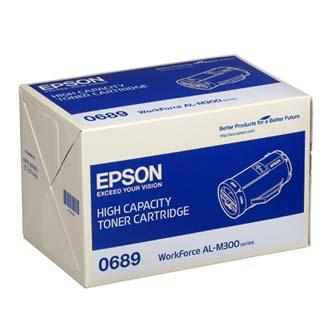 Epson originální toner C13S050689, black, 10000str., high capacity, Epson Aculaser M300D, M300DN, O