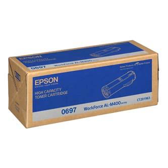 Epson originální toner C13S050697, black, 23700str., high capacity, Epson Aculaser M400DN