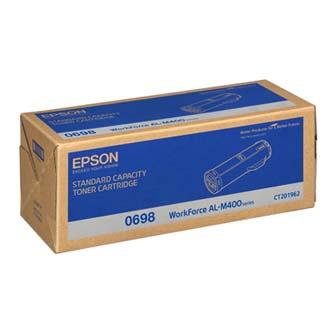 Epson originální toner C13S050698, black, 12000str., Epson Aculaser M400DN, O