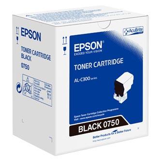 Epson originální toner C13S050750, black, 7300str., Epson WorkForce AL-C300N, O