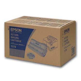 Epson originální toner C13S051173, black, 20000str., return, Epson Aculaser M4000
