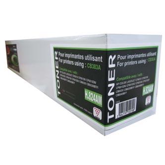 UPrint kompatibilní toner s CB383A, magenta, 21000str., H.824AM, pro HP Color LaserJet CP6015n, dn, xh, CM6030, 6040