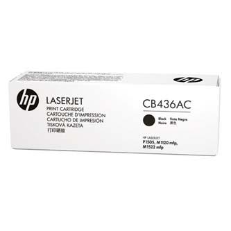 HP originální toner CB436AC, black, 2000str., 36A, HP LaserJet P1505, M1522n, nf MFP, kontraktový produkt