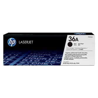 HP originální toner CB436A, black, 2000str., 36A, HP LaserJet P1505, M1522n, nf MFP