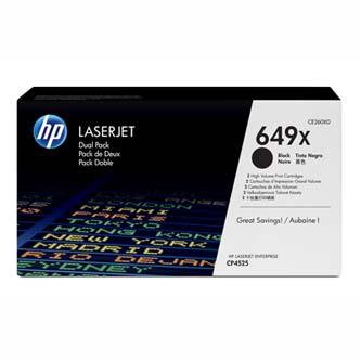 Toner HP CE260XD pro HP CLJ CP4525, High Capacity černý  - 2 pack
