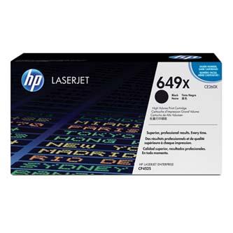 HP originální toner CE260X, black, 17000str., HP 649X, high capacity, HP Color LaserJet CP4525