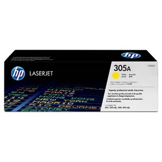 Toner HP CE412A pro HP CLJ M351/M375/M451/M475 - 305A (2600 stran) Yellow