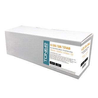 Kompatibilní toner s CF210A, black, 2200str., H.125/128/131AB, pro HP LaserJet Pro 200 M276n, M276nw,, N