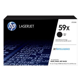 HP originální toner black, 10000str., HP 59X, high capacity, HP LaserJet Pro M404, M403, LaserJet Pro MFP M428, O