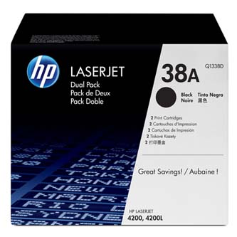 Toner HP Q1338D pro LJ 4200 2-pack (2 x12000 stran) černý