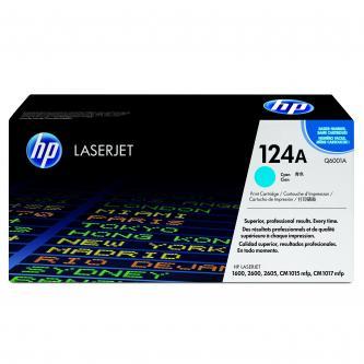 HP Q6001A Toner cyan pro CLJ1600,2600,2605,CM1015,CM1017 (cca 2000 str)