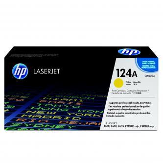 HP Q6002A Toner žlutý pro CLJ1600,2600,2605,CM1015,CM1017 (cca 2000 str)HP